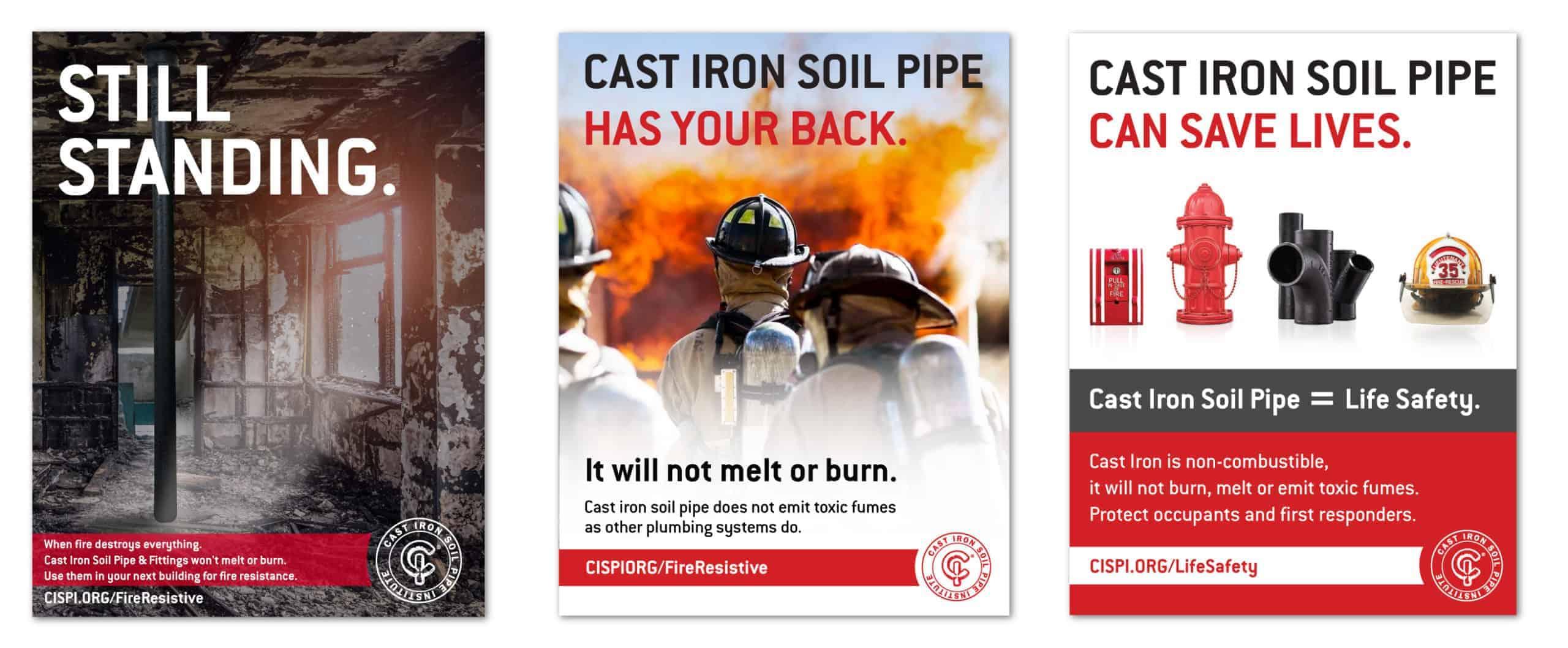 CISPI Fire Resistive Ads