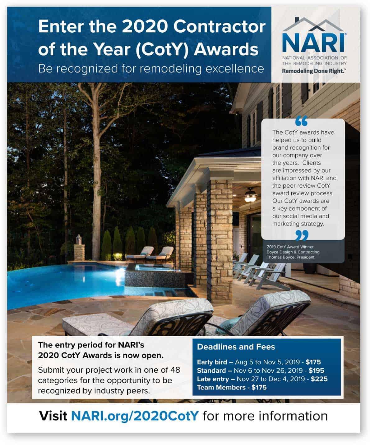 NARI CotY Campaign 2